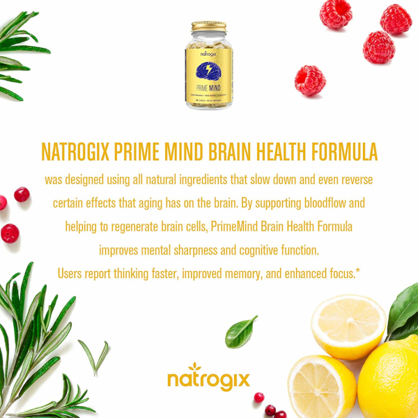 What does Natrogix PrimeMind do?