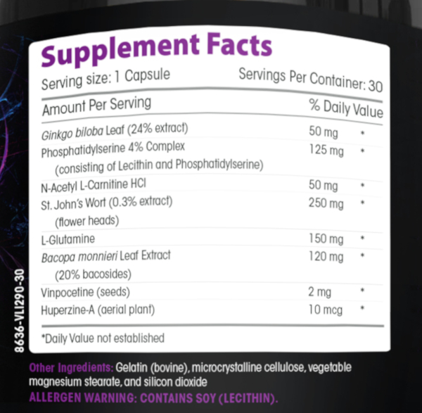 Neuro Focus ingredients
