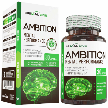Primal One Ambition nootropic supplement